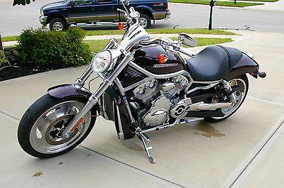 2007 Harley-Davidson VRSC 2007 Harley Davidson VROD Metallic Black Cherry Pearl