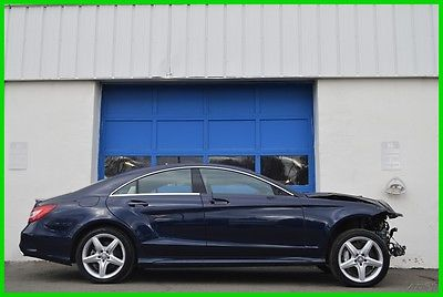 2016 Mercedes-Benz CLS-Class CLS550 4MATIC AMG Sport Hot&Cold Massage Seats +++ Repairable Rebuildable Salvage Lot Drives Great Project Builder Fixer Easy Fix