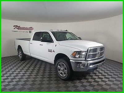 2017 Ram 2500 Big Horn 4x4 Manual Cummins Diesel Crew Cab Truck 2017 RAM 2500 4WD Manual Diesel Dodge Truck Backup Camera Uconnect Park Assist