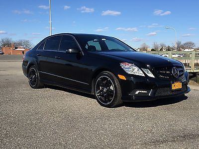 2011 Mercedes-Benz E-Class Renntech E550 sport package 2011 Mercedes-Benz E550 4MATICWDDHF9ABXB Renntech Sport Package FACTORY WARRANTY