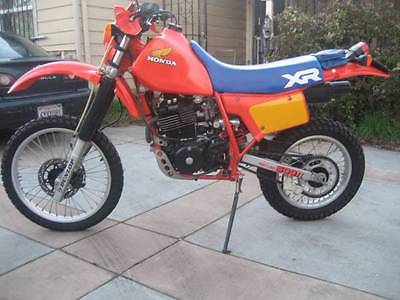 1984 Honda XR  UPER CLEAN VINTAGE 1984 HONDA XR500R-E