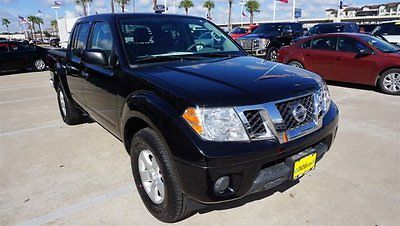 2013 Nissan Frontier S 2013 Nissan Frontier S 20,457 Miles Black Crew Cab Pickup Gas V6 4.0L/241 Automa
