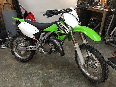 2003 Kawasaki KX  2003 Kawasaki kx125 dirt bike