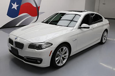 2014 BMW 5-Series Base Sedan 4-Door 2014 BMW 535D SEDAN DIESEL SUNROOF NAV HUD REAR CAM 45K #001726 Texas Direct