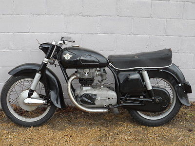 1956 Other Makes  1956 HOREX IMPERATOR 400 PARTS PROJECT BIKE W/ TITLE ZUNDAPP CITATION