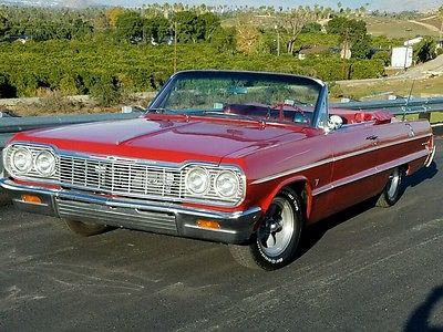 1964 Chevrolet Impala base 1964 impala convertible