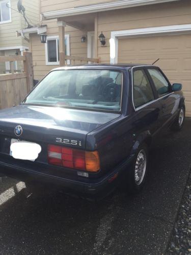 1989 BMW 3-Series 325i 1989 BMW 3-Series 325i