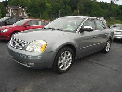 2005 Ford Five Hundred Limited AWD 4dr Sedan 2005 Ford Five Hundred Limited AWD 4dr Sedan 3.0L V6 CVT Green