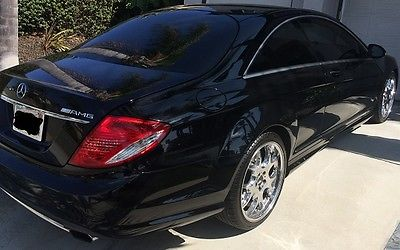 2008 Mercedes-Benz CL-Class Base Coupe 2-Door Mercedes-Benz CL 550 AMG (AMG)