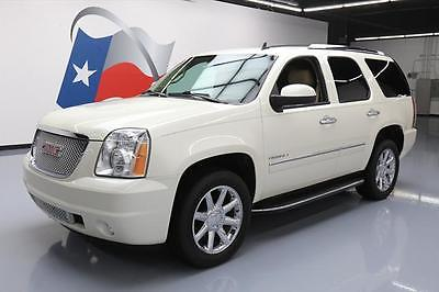 2013 GMC Yukon Denali Sport Utility 4-Door 2013 GMC YUKON DENALI SUNROOF NAV DVD REAR CAM 20'S 45K #326277 Texas Direct
