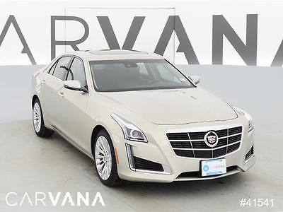 2014 Cadillac CTS CTS 2.0T Luxury Collection Beige 2014 CTS with 39693 Miles for sale at Carvana
