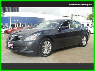 2012 Infiniti G37 Sport Appearance Edition 2012 Sport Appearance Edition Used 3.7L V6 24V Automatic Rear Wheel Drive Sedan