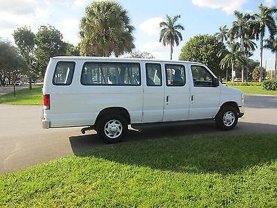 2011 Ford E-Series Van  2011 FORD E350 12 PASSENGER FLORIDA RUST FREE VAN LOW MILES RUNS NEW  MAKE OFFER