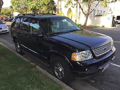 2002 Ford Explorer 2002 ford explorer damaged on the left back conner *see attached picture.