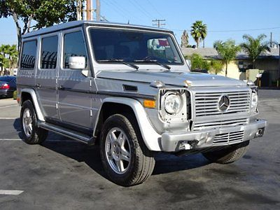2004 Mercedes-Benz G-Class G500 4MATIC 2004 Mercedes-Benz G500 4MATIC Damaged Salvage Loaded Super Luxurious Wont Last!