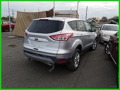 2016 Ford Escape SE 2016 FORD ESCAPE SALAVGE SAVE REBUILDER REPAIRABLE FIXER DAMAGED WRECKED PROJECT