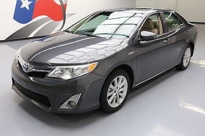 2012 Toyota Camry 2012 TOYOTA CAMRY XLE HYBRID HTD SEATS NAV REAR CAM 28K #053775 Texas Direct