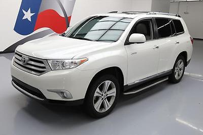 2013 Toyota Highlander Limited Sport Utility 4-Door 2013 TOYOTA HIGHLANDER LIMITED SUNROOF NAV REAR CAM 78K #115444 Texas Direct
