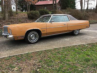 1976 Chrysler New Yorker New Yorker Brougham 2dr Hardtop Chrysler New Yorker Brougham Coupe 440 Mopar 26,000 miles 1976