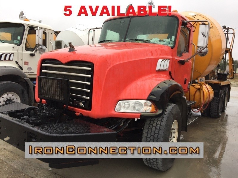 2008 Mack Granite Cv713 Mixer Truck