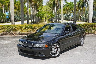 2001 BMW M5 Sedan 4D 2001 BMW M5 - Dinan - Brembo - 6 Speed Manual - Black / Black
