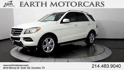 2013 Mercedes-Benz M-Class Base Sport Utility 4-Door 2013 MERCEDES BENZ ML350, CARFAX CERT 1 OWNER, NAV, ROOF, DRIVER ASSIST!!