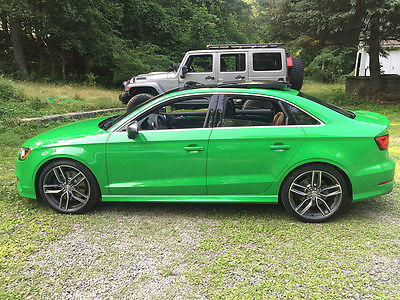 2015 Audi S3 2015 Audi S3 Exclusive Edition Viper Green Super Limited 1 of 5
