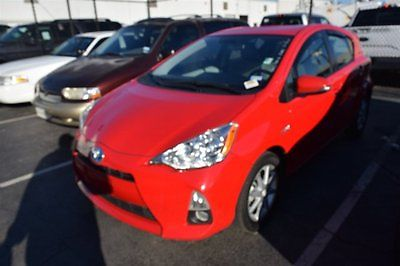2013 Toyota Prius HB4 2013 Toyota Prius c HB4 47,083 Miles Red Hatchback Gas/Electric I4 1.5L/ Automat
