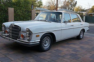 1972 Mercedes-Benz 200-Series 280SEL 4.5L 1972 mercedes