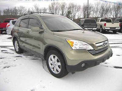 2007 Honda CR-V EX-L AWD 4dr SUV 2007 Honda CR-V EX-L AWD 4dr SUV 2.4L I4 Automatic 5-Speed Green