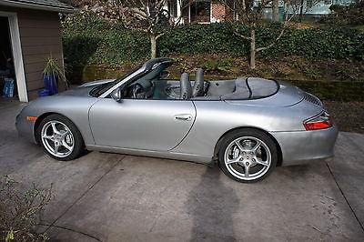 2002 Porsche 911 911 C4 cabriolet Porsche 911 C4 Cabriolet . Mint Condition. 40,600 miles. FACTORY HARDTOP.