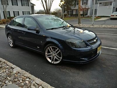 2009 Chevrolet Cobalt SS Sedan 4-Door 2009 Chevrolet Cobalt SS Sedan 4-Door 2.0L Turbo Blue 1 of 40 made in the USA