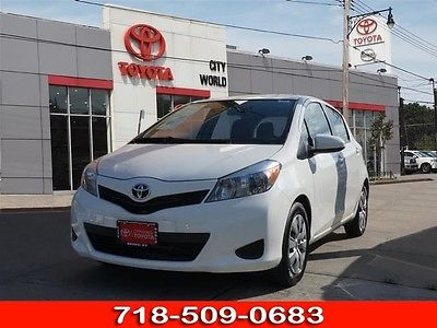 2013 Toyota Yaris 5-Door L 2013 Toyota Yaris 5-Door L 18614 Miles White L 4dr Hatchback 4 Cylinder 4-Speed