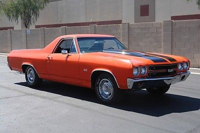 1970 Chevrolet El Camino -- 1970 Chevrolet EL Camino Factory A/C.. Rust Free Arizona Car..!! MAKE OFFER..!!
