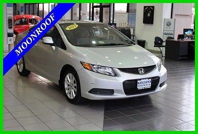 2012 Honda Civic EX 2012 EX Used 1.8L I4 16V Automatic FWD Coupe