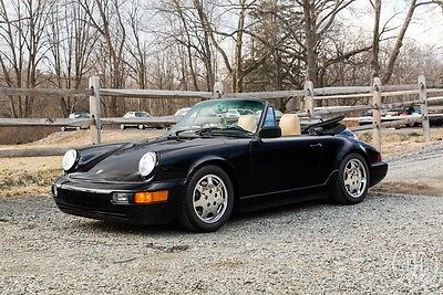 1991 Porsche 911 Carrera 1991 Porsche 911 Convertible Manual
