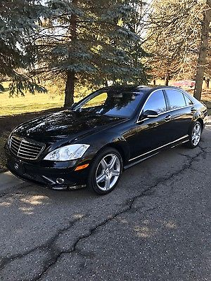 2007 Mercedes-Benz S-Class S550 4 Matic 2007 Mercedes-Benz S550 4Matic