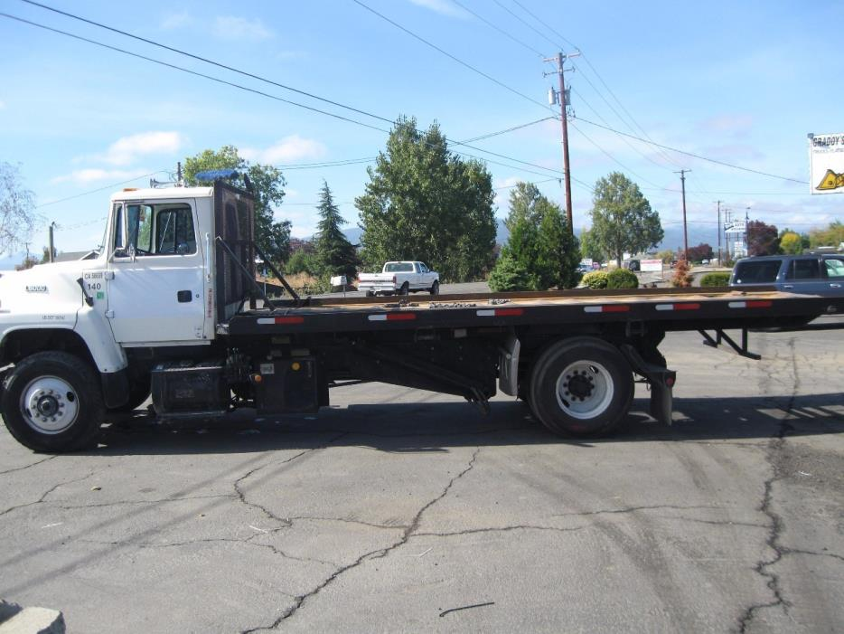 1996 Ford L8000 Roll Off Truck