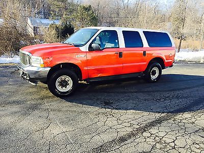 2004 Ford Excursion XLT Diesel 4X4 LOW MILES Fleet Maintained OBO 2004 Ford Excursion Diesel 4X4 Fire Dept Fleet Maintained LOW MILES 131K!!! OBO