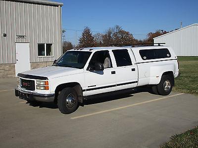 2000 GMC Sierra 3500 SLT 2000 GMC C3500 Crew Cab Dually Diesel