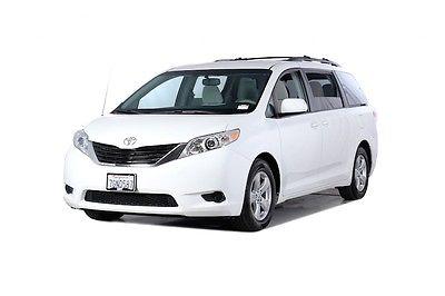 2014 Toyota Sienna LE 2014 Toyota Sienna LE 29295 Miles White 4D Passenger Van 3.5L V6 SMPI DOHC 6-Spe