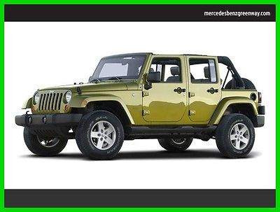 2008 Jeep Wrangler Unlimited Sahara 2008 Unlimited Sahara Used 3.8L V6 12V Automatic Rear Wheel Drive SUV Premium