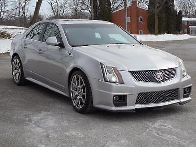 2009 Cadillac CTS V Sedan 4-Door 2009 Cadillac CTS V AUTO ULTRA VIEW NEW TIRES CHROMES BEST BUY