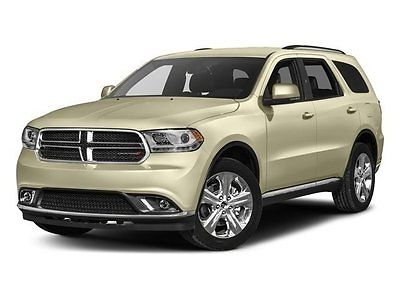 2017 Dodge Durango SXT 2017 Dodge Durango SXT Sport Utility Automatic Regular Unleaded V-6 3.6 L/220