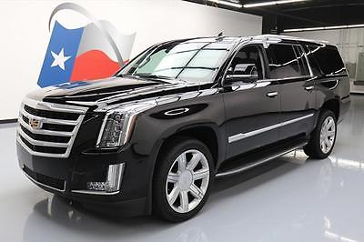 2016 Cadillac Escalade Luxury Sport Utility 4-Door 2016 CADILLAC ESCALADE ESV LUX SUNROOF NAV HUD 22'S 19K #141587 Texas Direct