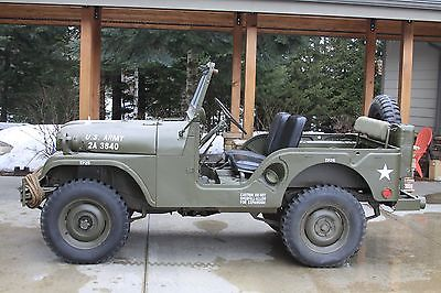 1955 Willys M38A1  1955 Military M38A1