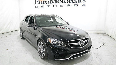 2014 Mercedes-Benz E-Class E63 AMG S mercedes benz e63 e 63 s black amg awd 13 14 15 16 navi pano 4matic best used mb