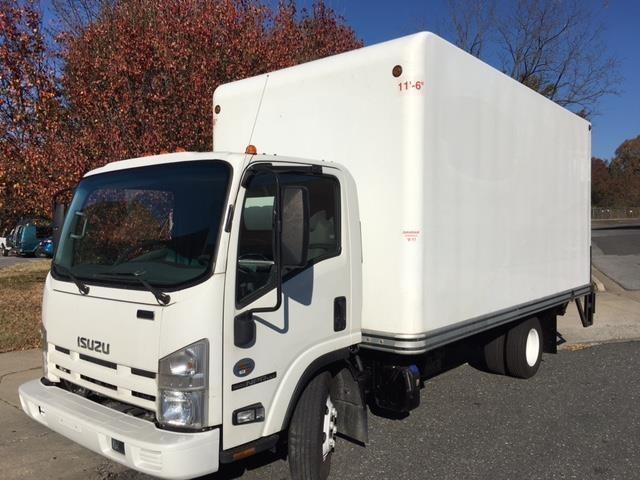 2014 Isuzu Npr Hd Box Truck - Straight Truck