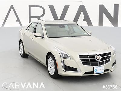 2014 Cadillac CTS CTS 2.0T Luxury Collection Beige 2014 CTS with 18379 Miles for sale at Carvana