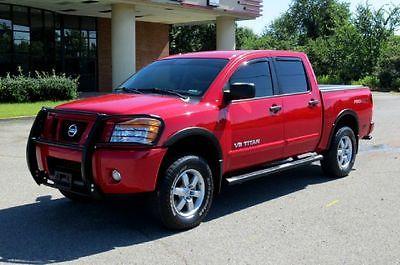 2012 Nissan Titan PRO-4X Crew Cab Pickup 4-Door 2012 NISSAN TITAN PRO 4-X CREW 4X4 LIKE NEW !